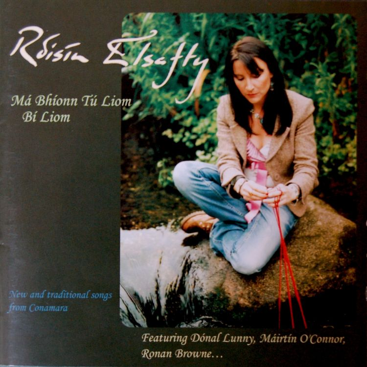 Rosin Elsafty - a truly silky smooth voice carrying lilting tunes. Oh, and I know her. She's full of awesome.