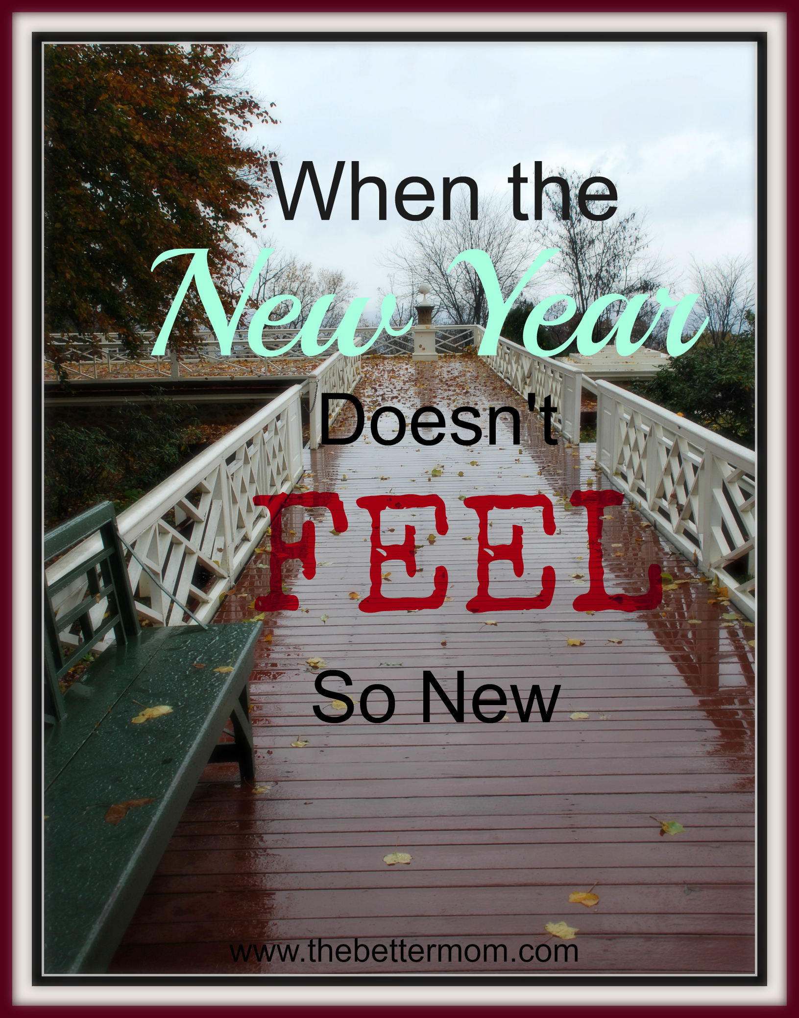 So It's A New Year. Now What?