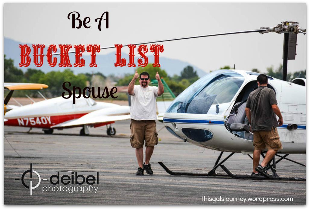 Be A Bucket List Spouse