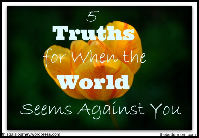 When the World – and God – Seems Against You