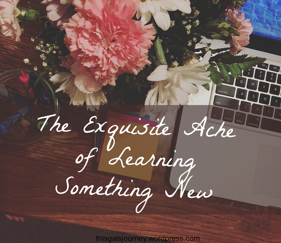 The Exquisite Ache of Learning Something new